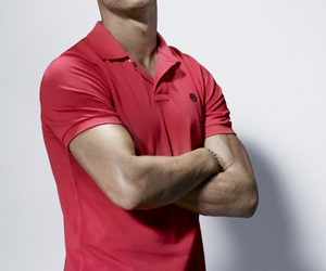 cristiano ronaldo, pink, and male model image