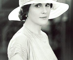 downton abbey and mary crawley image