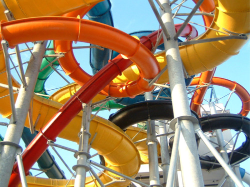 colors and waterpark image