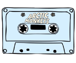 arctic monkeys, transparent, and cute image