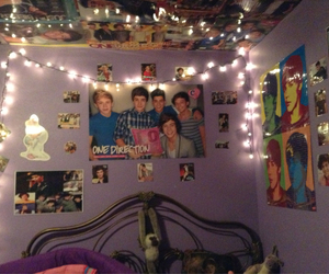 one direction, decorations, and room image