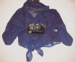 blue, camera, and photography image