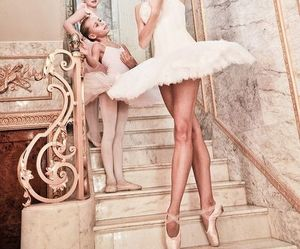 ballerina, clasic, and dancer image