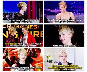 funny, I love her, and Jennifer Lawrence image