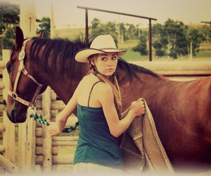 family, horses, and love image