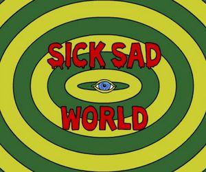 Daria, sad, and world image