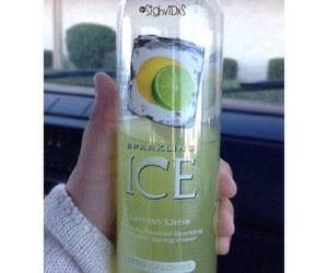 sparkling, water, and lemonlime image
