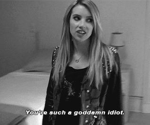 american horror story, emma roberts, and funny image