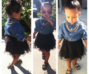 baby, fashionista, and love image