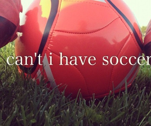 soccer, football, and love image