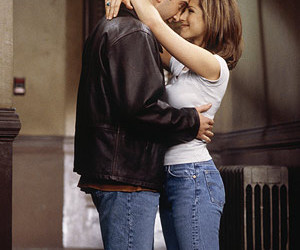 friends, couple, and rachel green image