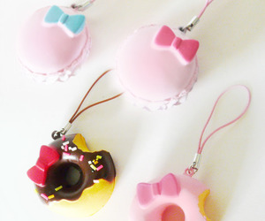 hello kitty, pink, and squishies image