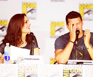 bones, david boreanaz, and emily deschanel image