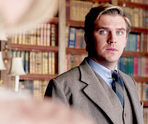 dan stevens and downton abbey image