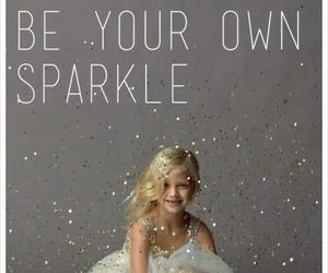 girl and sparkle image
