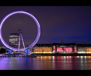 europe, lights, and london image