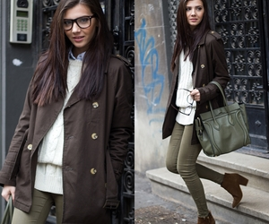 fashion blogger, outfit, and winter outfit image