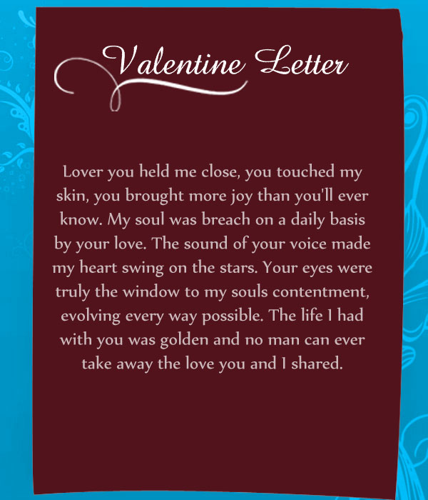 Valentine Letters is the best gift for your sweetheart Your