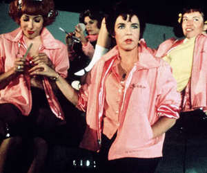 grease, pink ladies, and pink image