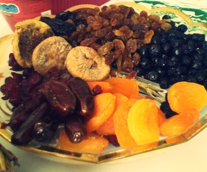 christmas, fruit, and dried fruits image