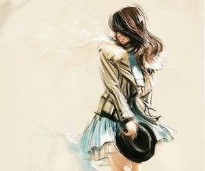 girl, fashion, and art image