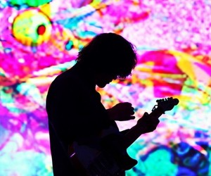 andrew vanwyngarden, colours, and guitar image