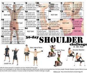 fitness, shoulder, and workout image
