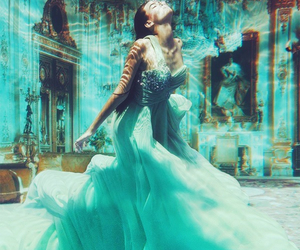 beautiful, dress, and fantasy image