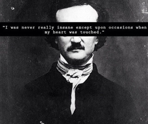 edgar allan poe and quote image