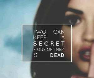 pretty little liars, secret, and pll image