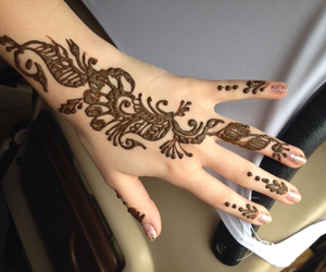 henna, incredible, and india image
