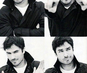 ian somerhalder, ian, and damon image