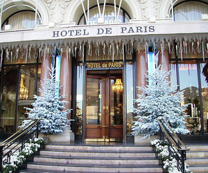 paris, christmas, and hotel image