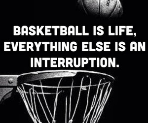 Basketball and life image