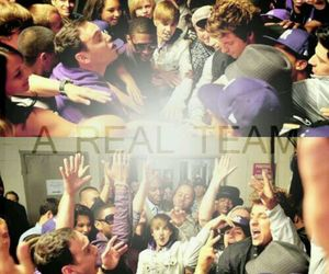 team and justin bieber image