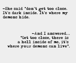 demon, quotes, and hell image