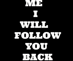 <3, follow, and me image