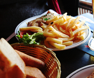fast food, food, and French Fries image