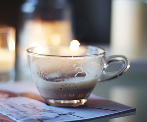 candle, coffee, and cup image