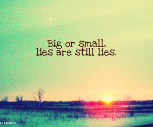 lies, big, and quote image