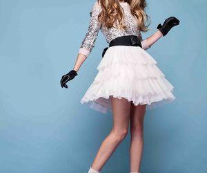 dress, knee, and mini image
