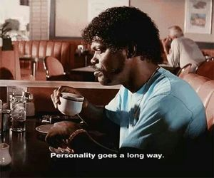 pulp fiction, quote, and personality image