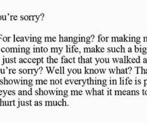 leaving, life, and love quotes image