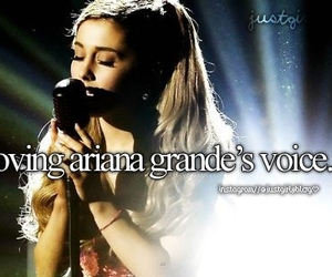 ariana grande and voice image