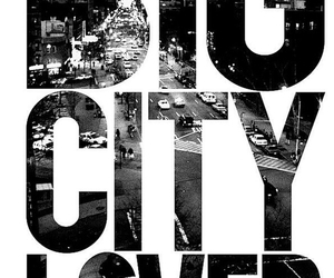city, lover, and text image