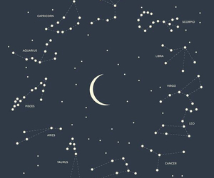 stars, moon, and astrology image