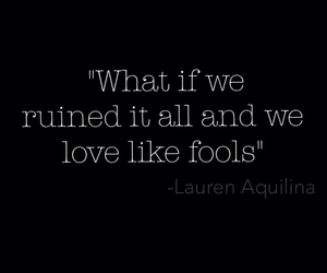 beautiful, fools, and quote image