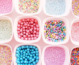 candy, food, and pastels image
