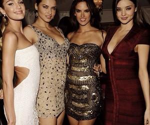 model, miranda kerr, and Adriana Lima image