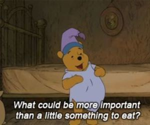food, winnie the pooh, and eat image